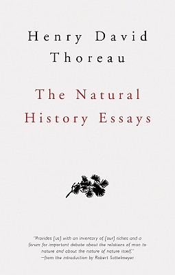 The Natural History Essays By Thoreau, Henry David